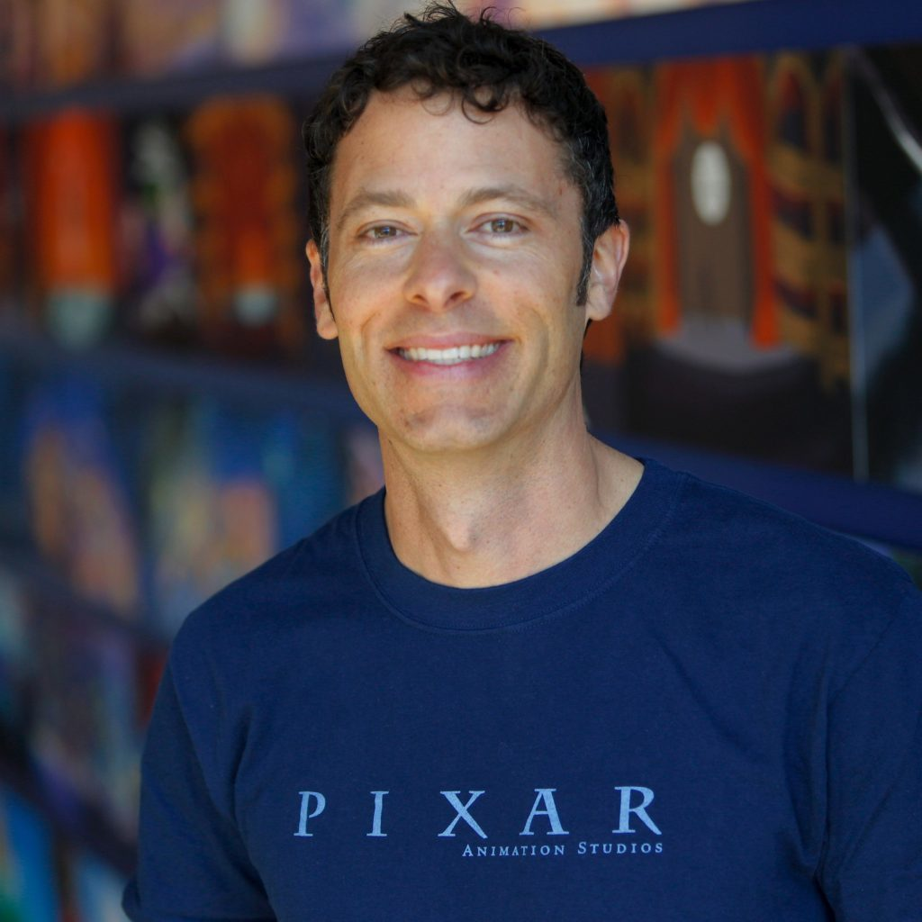 Matthew Luhn is photographed on September 10, 2014 at Pixar Animation Studios in Emeryville, Calif. (Photo by Deborah Coleman / Pixar)